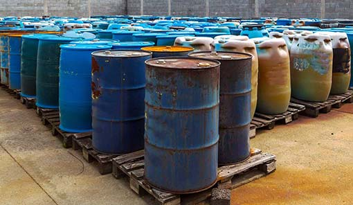 Waste oil bucket