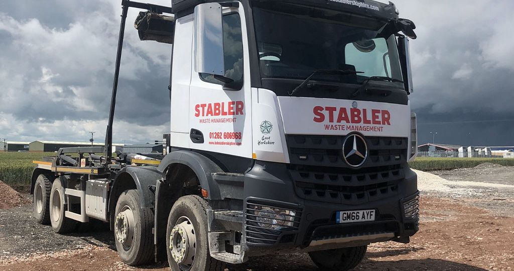 stabler waste management fleet low loader 3
